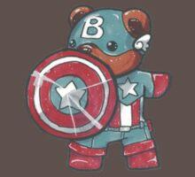 Captain A-bear-ica Baby Tee