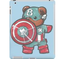 Captain A-bear-ica iPad Case/Skin