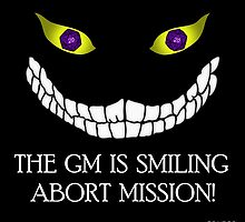 The GM Is Smiling by GrimDork