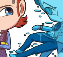 Rhys and Jack Chibis Sticker