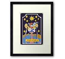 Star Platinum  Framed Print