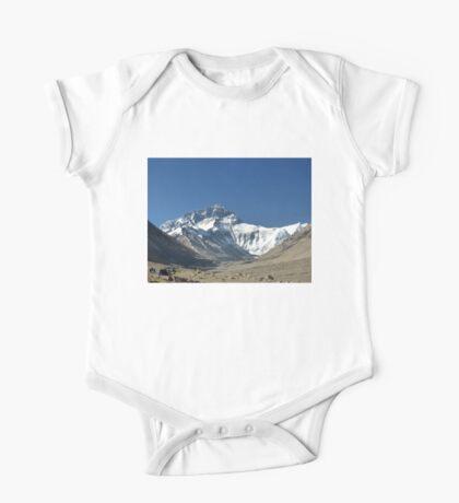 Mount Everest, highest peak in the world One Piece - Short Sleeve