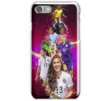 Alex Morgan From University Of California, Berkeley to Orlando Pride + National Team iPhone Case/Skin