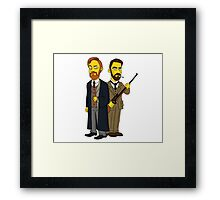 Moriarty & Moran  Framed Print