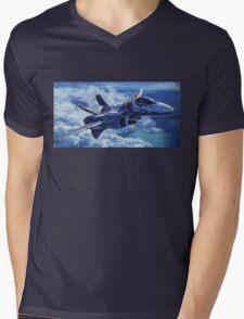 Macross Mens V-Neck T-Shirt