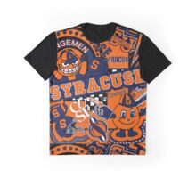 Syracuse Collage Graphic T-Shirt