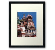 Saint Vasili Blajeni Cathedral Framed Print