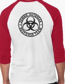 Zombie Outbreak Response Team Men's Baseball ¾ T-Shirt
