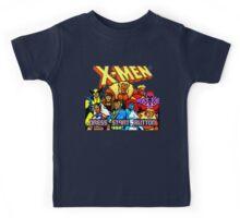 X-MEN Retro Game Design Kids Tee