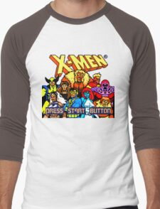 X-MEN Retro Game Design Men's Baseball ¾ T-Shirt