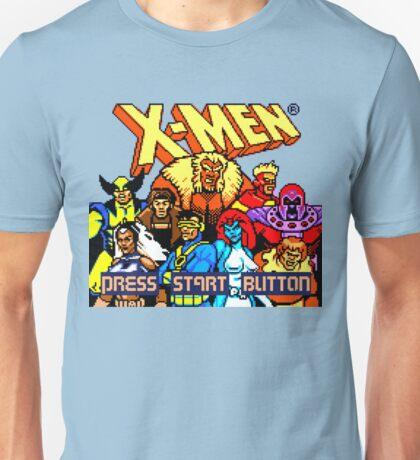 X-MEN Retro Game Design Unisex T-Shirt