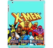 X-MEN Retro Game Design iPad Case/Skin