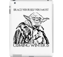 Coming winter is iPad Case/Skin