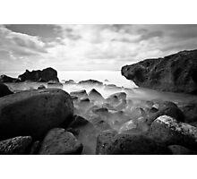 B&W North Shore Photographic Print