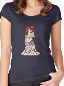Red-Headed Bride Women's Fitted Scoop T-Shirt