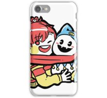 persona 3 femc with jack frost iPhone Case/Skin