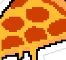 Party Pizza Pixel Art Sticker
