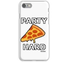 Party Pizza Pixel Art iPhone Case/Skin