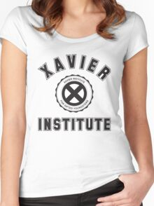 XAVIER INSTITUTE FOR GIFTED YOUNGSTERS Women's Fitted Scoop T-Shirt