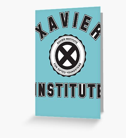 XAVIER INSTITUTE FOR GIFTED YOUNGSTERS Greeting Card