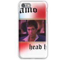 Tony Montana head honcho  iPhone Case/Skin