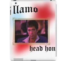 Tony Montana head honcho  iPad Case/Skin