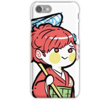 persona 3 femc in kimono with umbrella iPhone Case/Skin