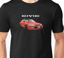 Civic Ef Sedan Jdm Unisex T-Shirt