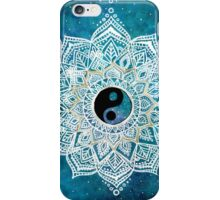 Yin and Yang Galaxy Mandala iPhone Case/Skin