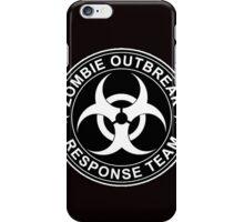 Zombie Outbreak Response Team Logo iPhone Case/Skin