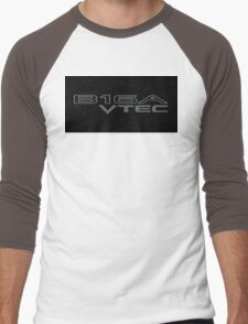 b16 VTEC HONDA CIVIC JDM Men's Baseball ¾ T-Shirt