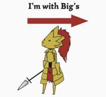 I'm with bigg's Kids Tee