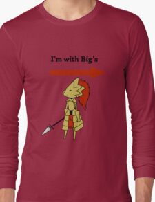 I'm with bigg's Long Sleeve T-Shirt