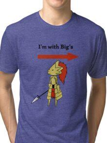 I'm with bigg's Tri-blend T-Shirt