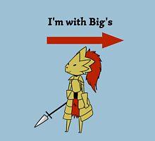 I'm with bigg's Unisex T-Shirt
