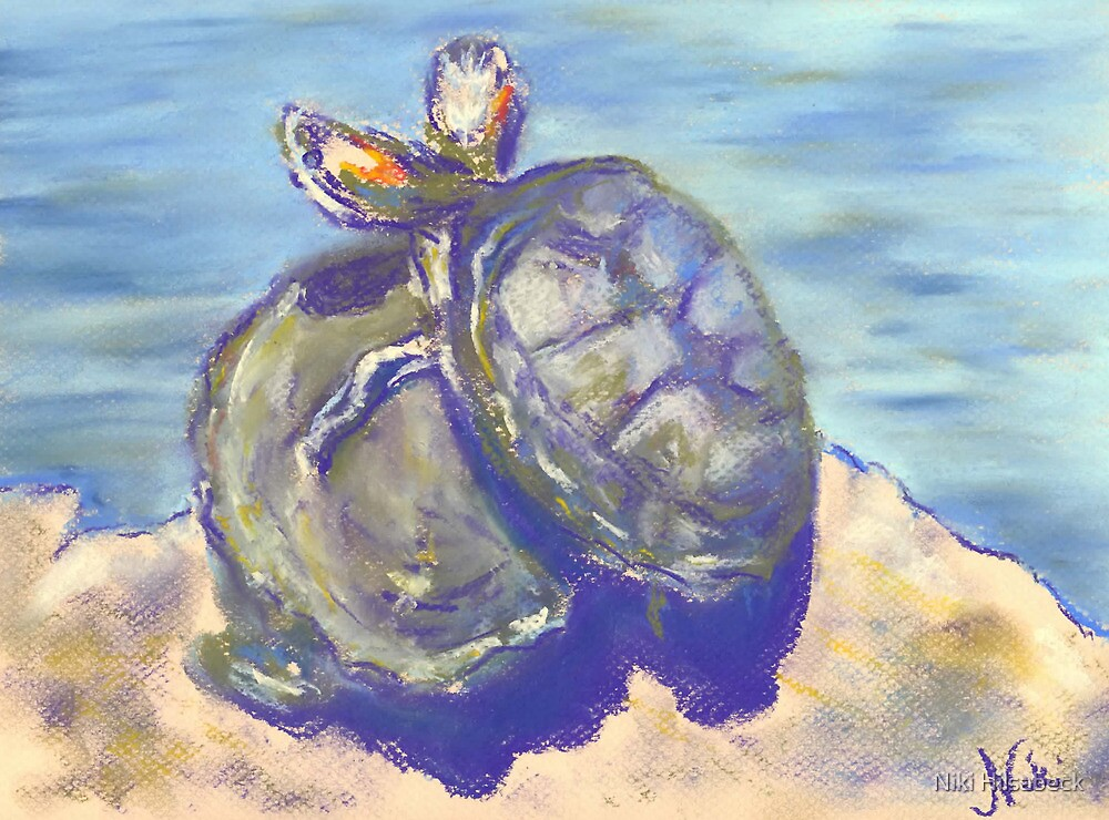 How 'bout a Hug (pastel) by Niki Hilsabeck