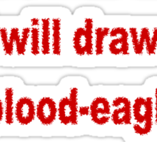 Blood-Eagle Sticker