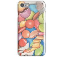 Mice love Smarties too iPhone Case/Skin