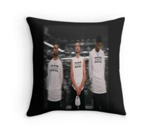 Spurs Big 3 Soft Edge Throw Pillow