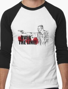 Over the Line! Men's Baseball ¾ T-Shirt