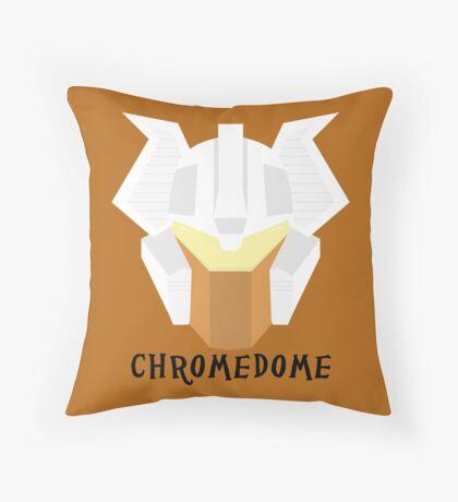 Chromedome Throw Pillow