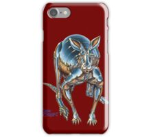 Roboroo! phone case - Red iPhone Case/Skin