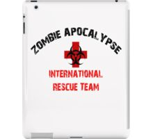 Zombie Response and Rescue Team Walkers iPad Case/Skin