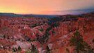 Bryce Canyon Sunrise by Wojciech Dabrowski