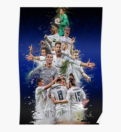 Real Madrid (Road to the Undecima) Poster