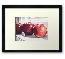 Red Delicious Framed Print