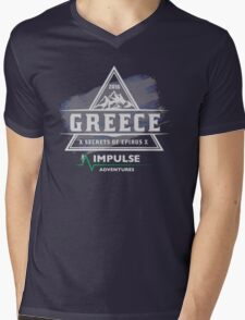 Secrets of Epirus Mens V-Neck T-Shirt