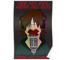 Speak No Change Poster