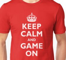 Wax On and Game On Unisex T-Shirt