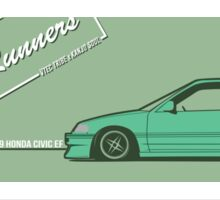 honda civic ef hatchback Sticker